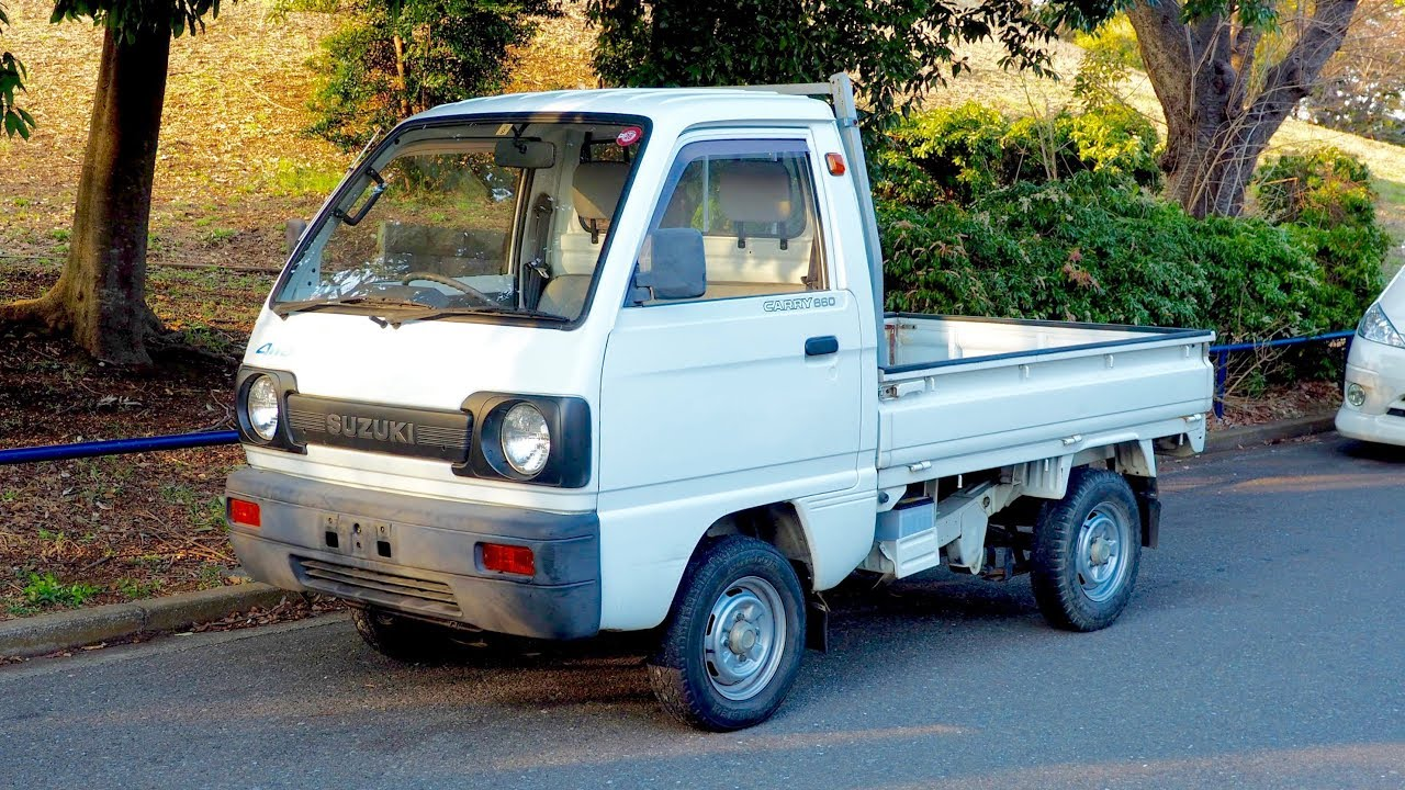 4ddbeefca16b80 1991 Suzuki Carry Mini Truck (USA Import) Japan Auction Purchase Review