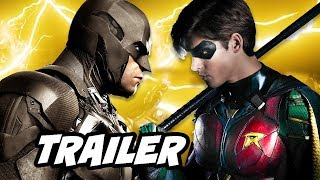 Young Justice Season 3 Trailer - Titans Batman Batmobile Scene Explained