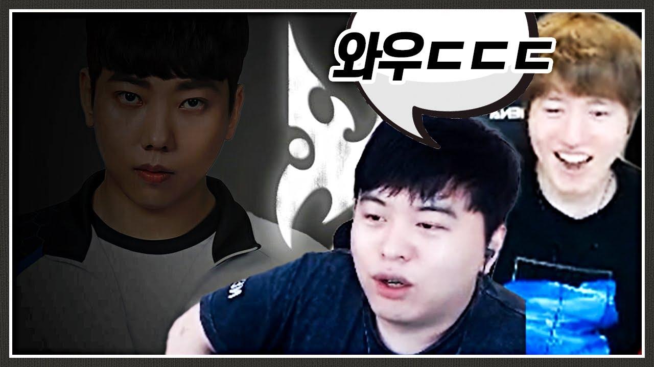 데뷔 14년만에 온 우주의기운(?)이 모인 프로토스;;