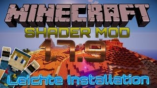 Shader Mod 1.8.3.10 Installieren ➤ Minecraft 1.8.3 ★ Schatten Mod - German Deutsch |
