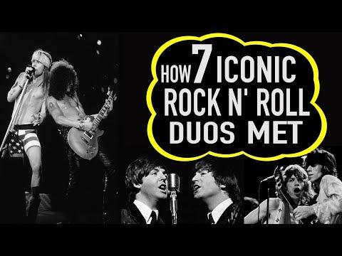 How 7 Iconic Rock n' Roll Duos Met