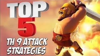 Best TH9 war attacks strategy in 2018 Clash of Clans
