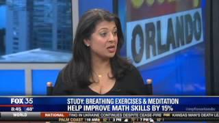 Mindfulness Improves Math Skills & Behavior in Children: Dr. Romie on Fox 35 News Orlando