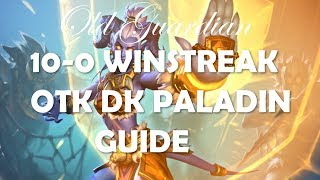How to play OTK DK Paladin with Lynessa (Hearthstone Rastakhan deck guide)