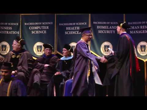 Master's Degrees, Graduation 2016, Trident University International.
