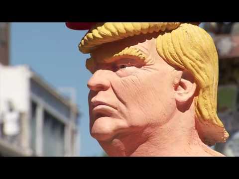 Naked Trump Statue & Hillary America's Political Meltdown {UNCENSORED}