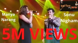 Gambar cover Le ja Le ja Bole  Chudiyan  by Sonu Nigham and Manya Narang  LIVE in Concert