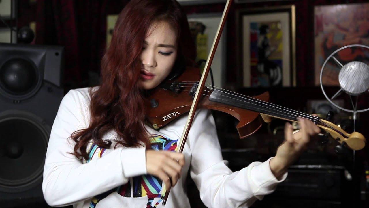 동백아가씨 Electric Violinist Jo A Ram Youtube