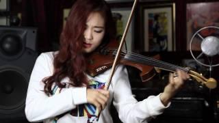 동백아가씨 - Electric violinist Jo A Ram