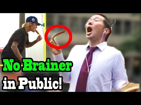 NO BRAINER - DJ Khaled, Justin Bieber, Chance The Rapper, Quavo - SINGING IN PUBLIC!!
