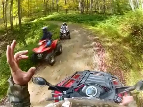 ATV RIDE PT 2! POTTER COUNTY PA! SUSQUEHANNOCK STATE FOREST TRAILS
