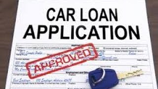 TOP 7 Steps - PRE-APPROVED CAR LOANS! -