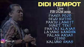 DIDI KEMPOT LIVE KONSER AMBYAR FIB UGM 20 08 2019