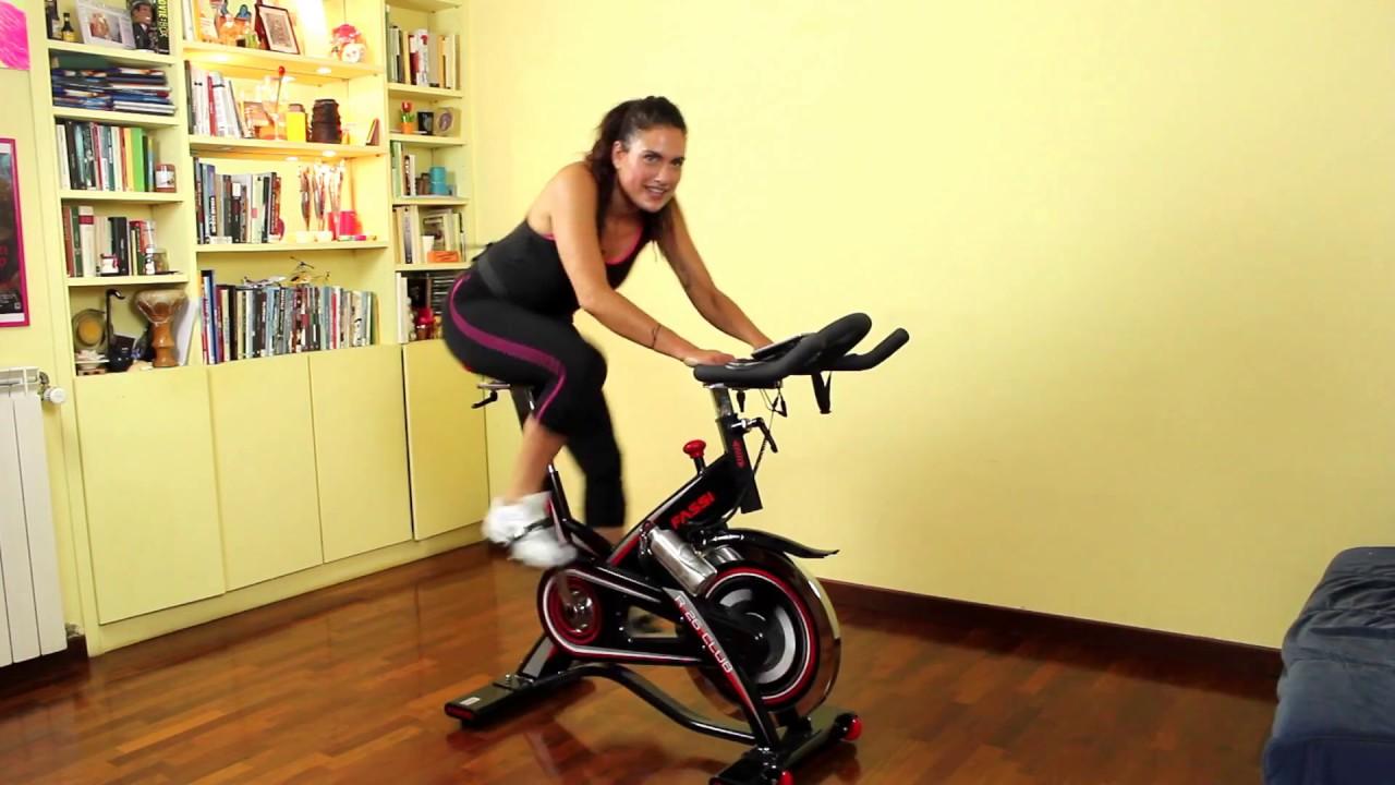 perdere peso con la bici da spinning