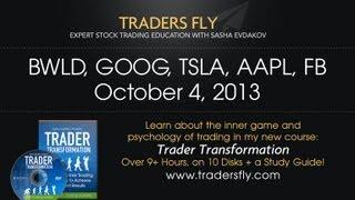 Daily Stock Recap: BWLD, Google, Tesla, Apple, and Facebook - Oct 4, 2013