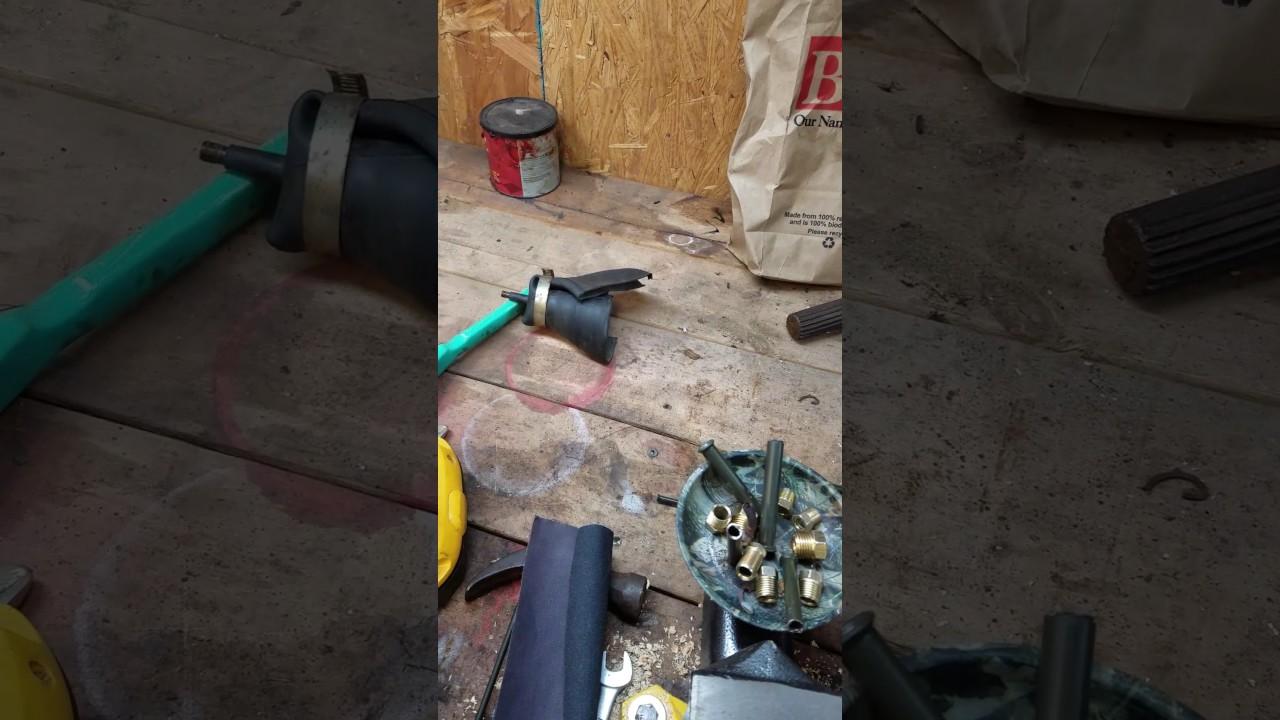 medium resolution of 1979 chevy luv truck gas tank repair