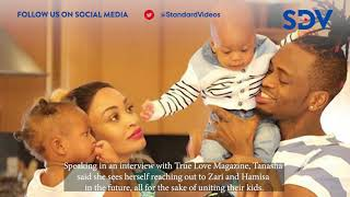 Tanasha Donna reveals she is ready to have her son bond with others Diamond kids