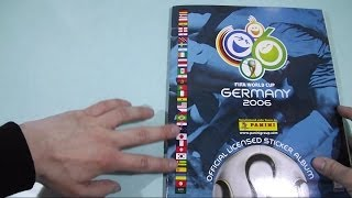 Panini 2006 Germany Sticker album