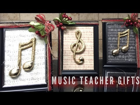 DIY Gift for Music Teachers