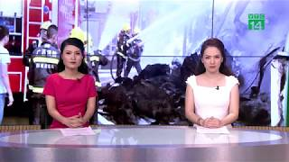VTC14 | Khu công nghiệp cháy suốt đêm, lính cứu hỏa Trung Quốc sang Việt Nam cùng dập lửa