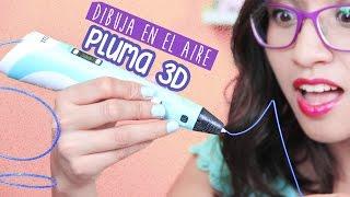 Cómo dibujar en el aire: Pluma 3D ¿Conviene? - 3D Printing Pen ✄ Craftingeek