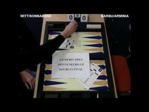 3rd Merit Open Montenegro Barbu/Arminia & Witt/Sonnabend (Win)