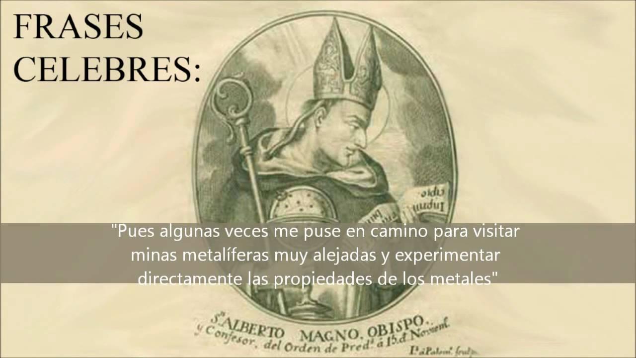 Homenaje San Alberto Magno 15 Nov Patrón De Las Ciéncias