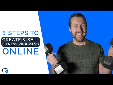 How to Create and Sell an Online Fitness Program