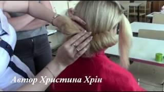 як самої зробити зачіску валик