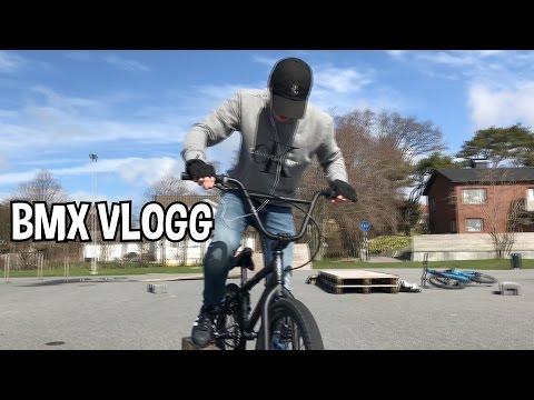 SJUKA TRICKS MED BMX | VLOGG