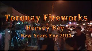 Torquay Fireworks New Years Eve 2014 Thumbnail
