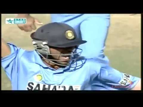 Unbelievable Run Out - Great Fielding by Mohammad Kaif