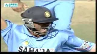 Unbelievable Run Out - Great Fielding by Mohammad Kaif - YouTube