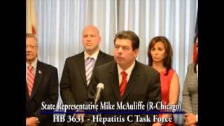 State Rep. Mike McAuliffe Announces Legislation to Establish a Hepatitis C Task Force in Illinois