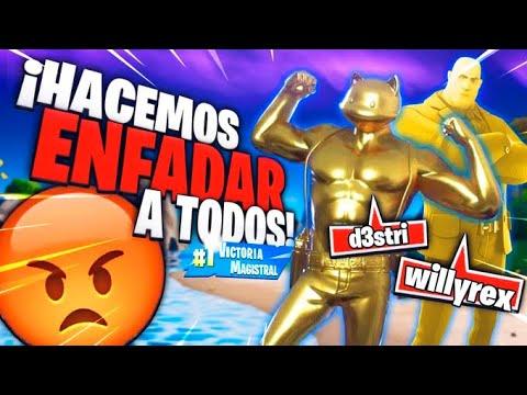 HACEMOS ENFADAR A TODOS! DUOS CON WILLYREX! | FORTNITE