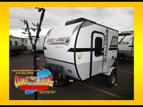2018 Rockwood Geo Pro Lite Weight 12RK Travel Trailer Oak Lake RV Sales of Moose Lake MN