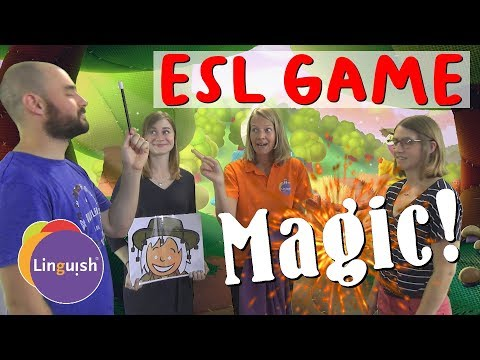 Linguish ESL Games // Magic! // LT61