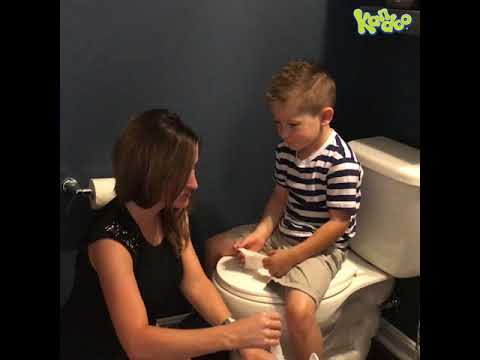 Healthy Habits, Teaching Kids How to Wipe