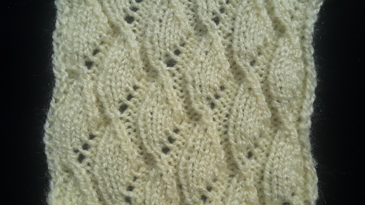 Diamond Shape Knitting Pattern 💎💎 - YouTube