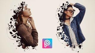 PicsArt Splash Effect   Picsart Editing Tutorial   Cara Edit Foto picsart