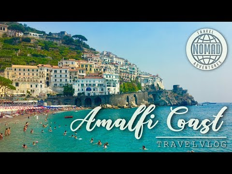 Day Trip Amalfi Coast, ITALY Travel Vlog HD 2017