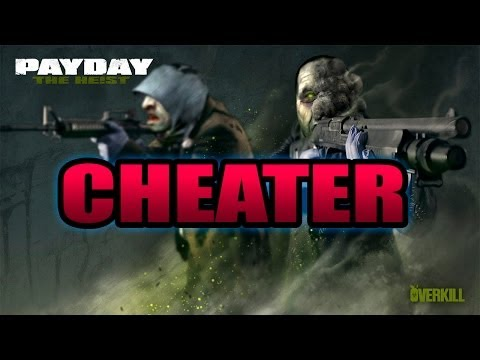 PAYDAY 2 : HACKER ULTRADETECTED!!!! - GO BANK - DEATH WISH