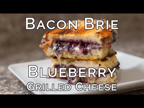 Bacon, Brie, and Blueberry Grilled Cheese