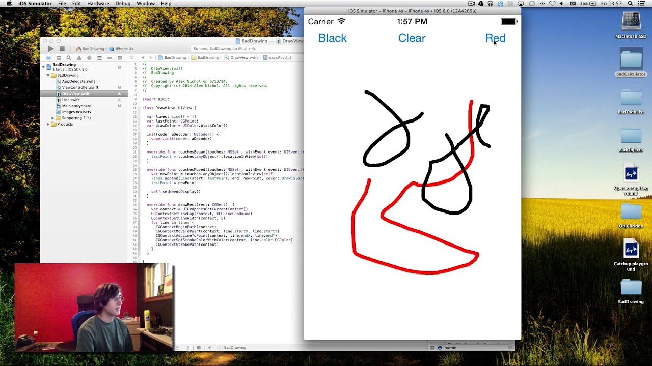 Learning Swift 6 Making A Drawing App Youtube