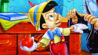 Disney PINOCCHIO Puzzle Game Kids Rompecabezas Clementoni 104-piece Learn Play Puzzles Toys