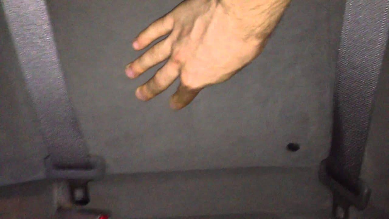 Honda Civic 4D. Задняя левая спинка сидения. Странный звук