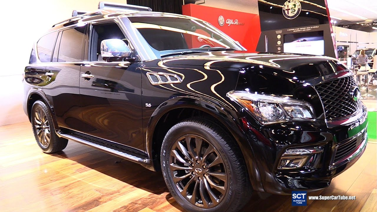 2016 Infiniti Qx80 Limited Exterior And Interior Walkaround Montreal Auto Show