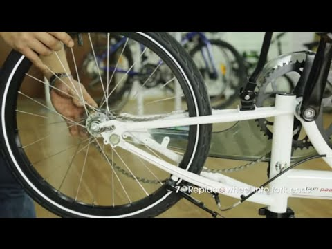 How To Remove And Replace A Rear Wheel On Your Dahon