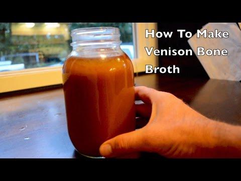 How to make Venison Bone Broth