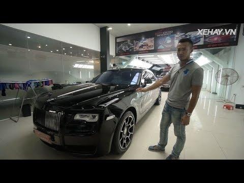 Khám phá Rolls-Royce Ghost Black Badge giá khoảng 40 tỷ tại Hà Nội |XEHAY.VN|